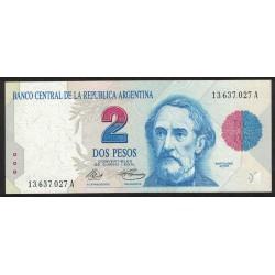 B3011 2 Pesos Convertibles A 1992 UNC