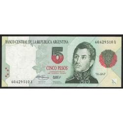 B3027 5 Pesos Convertibles A 1993 UNC