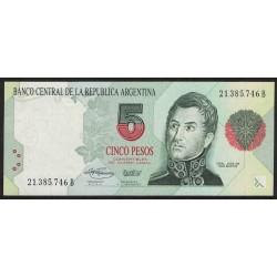 B3030 5 Pesos Convertibles B 1995 UNC