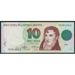 B3038 10 Pesos Convertibles A 1993 UNC