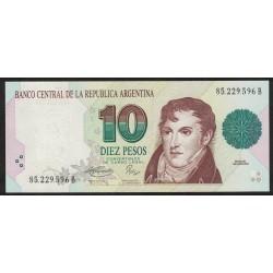B3042 10 Pesos Convertibles B 1994 UNC