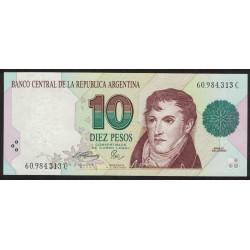 B3043 10 Pesos Convertibles C 1994 UNC