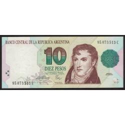 B3044 10 Pesos Convertibles C 1995 UNC