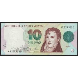 B3046 10 Pesos Convertibles D 1996 UNC