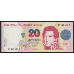 B3055 20 Pesos Convertibles A 1994 UNC