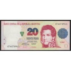 B3056 20 Pesos Convertibles A 1995 UNC