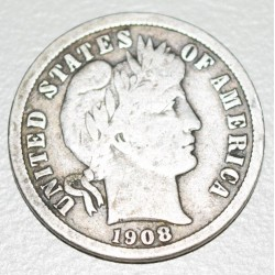 EE.UU KM113 10 Centavos 1908