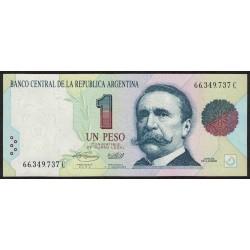 B3008a 1 Peso Convertible C 1994 UNC
