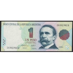 B3009a 1 Peso Convertible D 1994 UNC