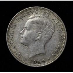 Portugal 200 Reis 1909 KM549