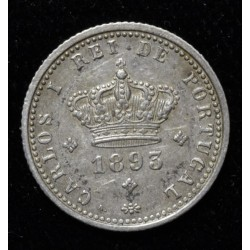 Portugal 50 Reis 1893 KM536