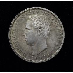Portugal 200 Reis 1887 KM512