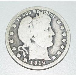 EE.UU KM114 25 Centavos 1916
