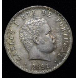 Portugal 500 Reis 1891 KM535 UNC
