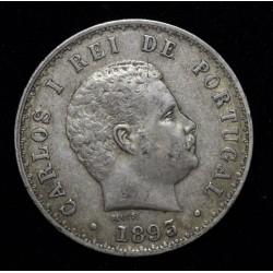 Portugal 500 Reis 1893 KM535
