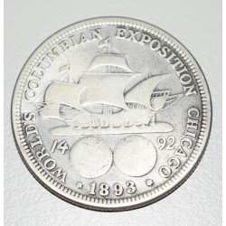 50 Centavos 1893 Conmemorativa EE.UU