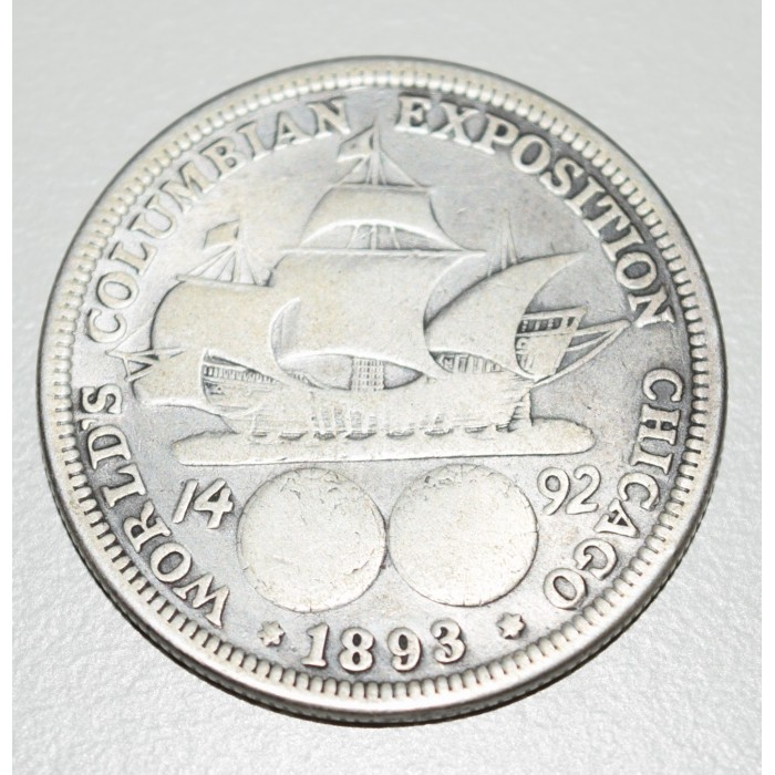 EE.UU 50 Centavos 1893 Conmemorativa