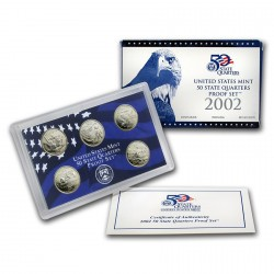 Estados Unidos 2002 50 State Quarters Proof Set UNC