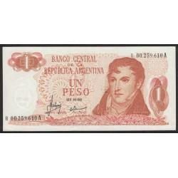 B2304 REPOSICION 1 Peso 1970/71 UNC
