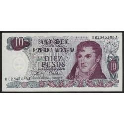 B2358 REPOSICION 10 Pesos 197/76 F1 UNC