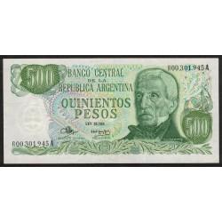 B2416 REPOSICION 500 Pesos 1973