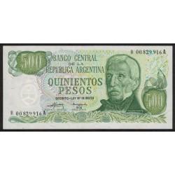 B2420 REPOSICION 500 Pesos 1975 UNC