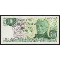 B2434 REPOSICION 500 Pesos 1982 UNC