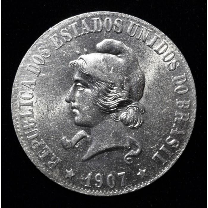 Brasil 2000 Reis 1907 KM508 UNC