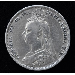 Inglaterra 6 Pence 1891 KM760