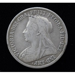 Inglaterra 1 Shilling 1898 KM780 Ag