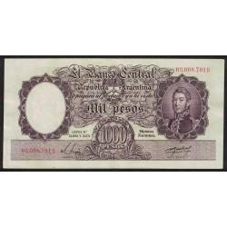 COL528b 1000 Pesos Leyes 12.962 y 13.571 B 1955