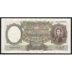 B2182 5000 Pesos A 1968