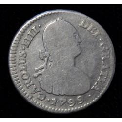 Potosi 1 Real 1799 PP CJ79.11 Carlos IIII