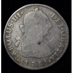 Potosi 2 Reales 1781 PR CJ65.10.4 Carlos III