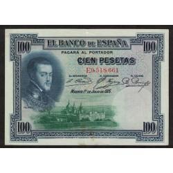 España P69c 100 Pesetas 1925