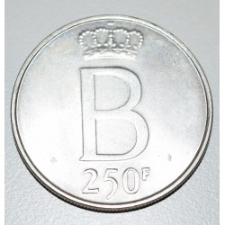 Belgica 250 Francos 1976