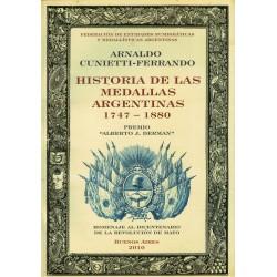 Libro Historia De Las Medallas Argentinas
