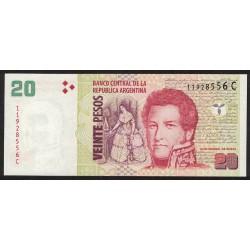 B3517 20 Pesos C 2005 UNC