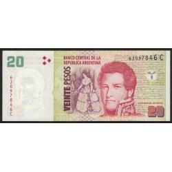 B3518 20 Pesos C 2006 UNC