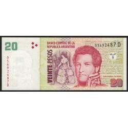 B3520 20 Pesos D 2008 UNC