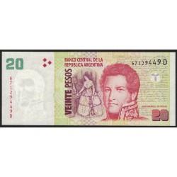 B3526 20 Pesos E 2003 UNC