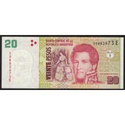 B3527 20 Pesos E 2014 UNC
