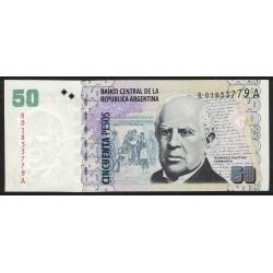 B3619 REPOSICION 50 Pesos 2006/2007 UNC