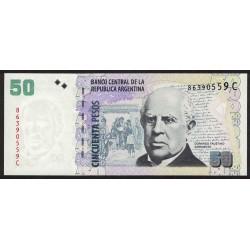 B3621 50 Pesos C 2010 UNC