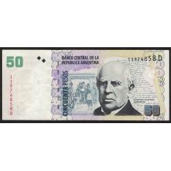 B3622 50 Pesos D 2010 EXC+