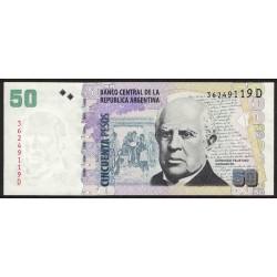 B3624 50 Pesos D 2011 UNC