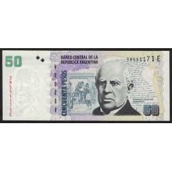 B3625 50 Pesos E 2011 UNC