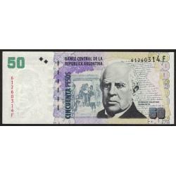 B3627 50 Pesos F 2013 EXC+