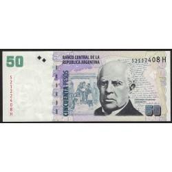 B3632 50 Pesos H 2014 UNC