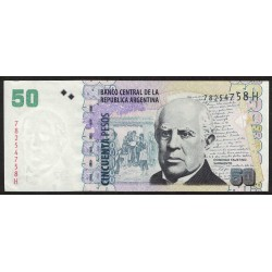 B3634 50 Pesos H 2014 EXC